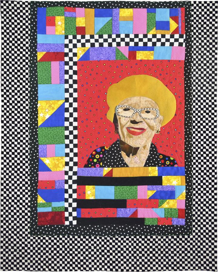 art quilt by Susanne Miller Jones