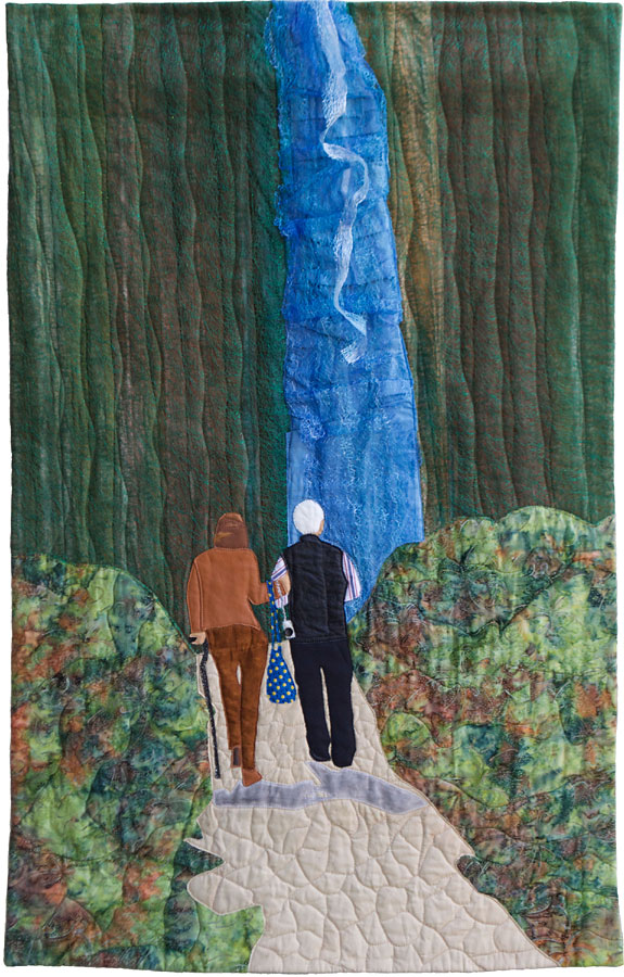 textile art inspired by baby boomers