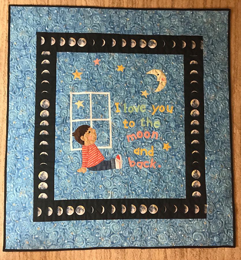 Art quilt by Susanne M. Jones